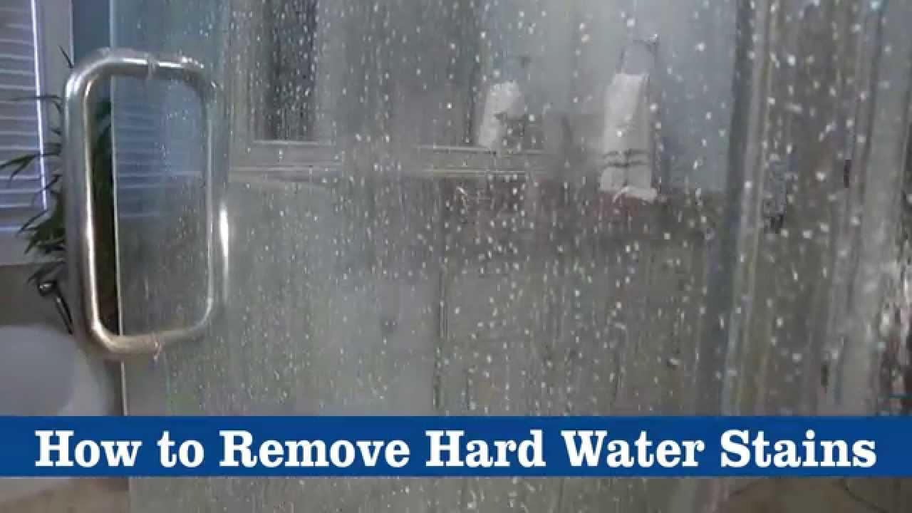 Hard Water Stain Removal
